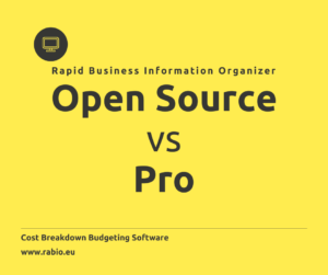 open source vs pro