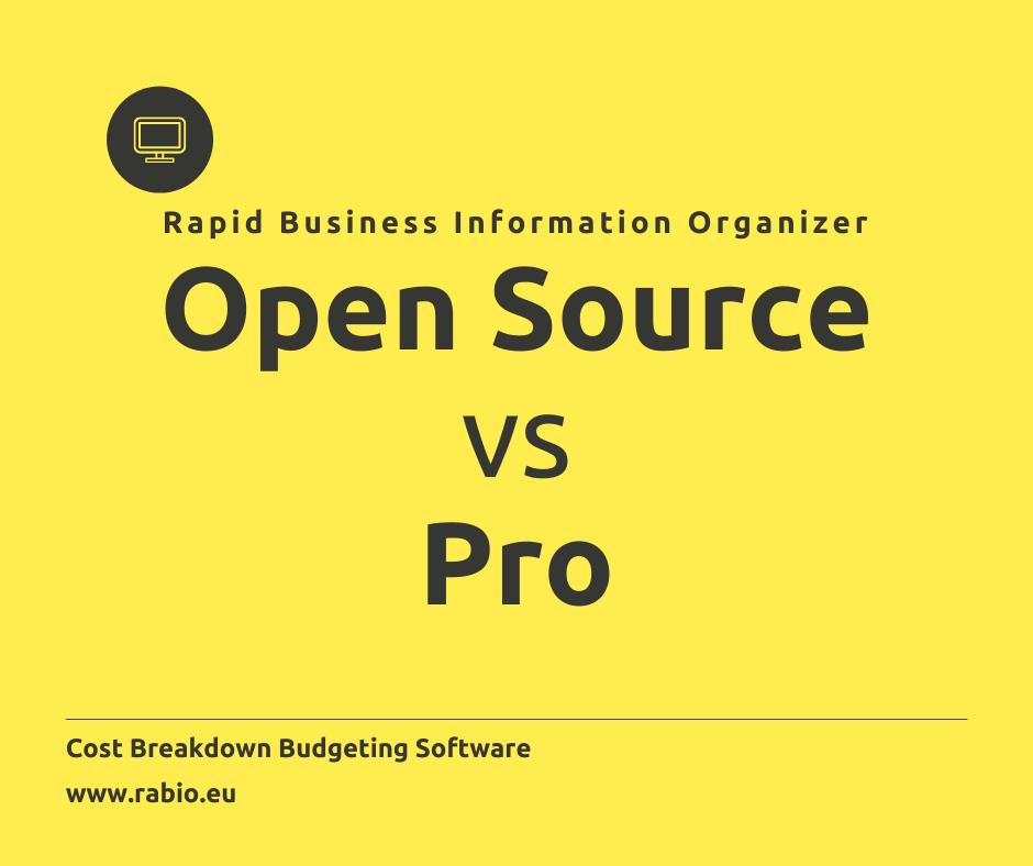 open source vs pro
