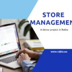 rabio sotre management demo project