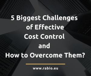 cost control bugdeting