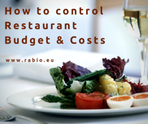 restaurant costs budgeting